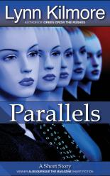 Parallels short story book cover by Lynn Kilmore